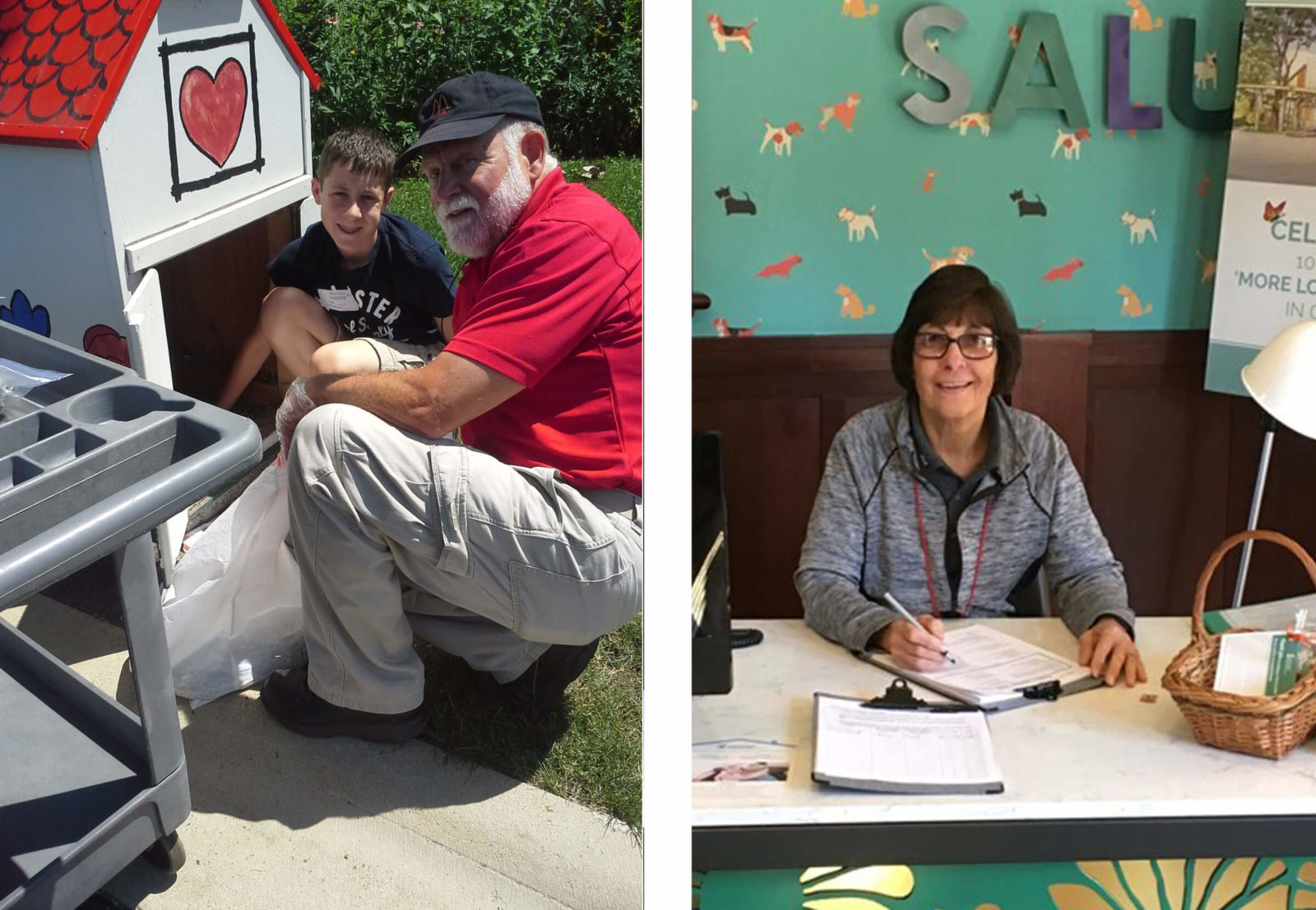 February Volunteers of the Month – Joe and Sandy Bard